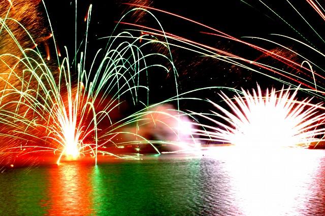 花火 りんどう 大会 湖