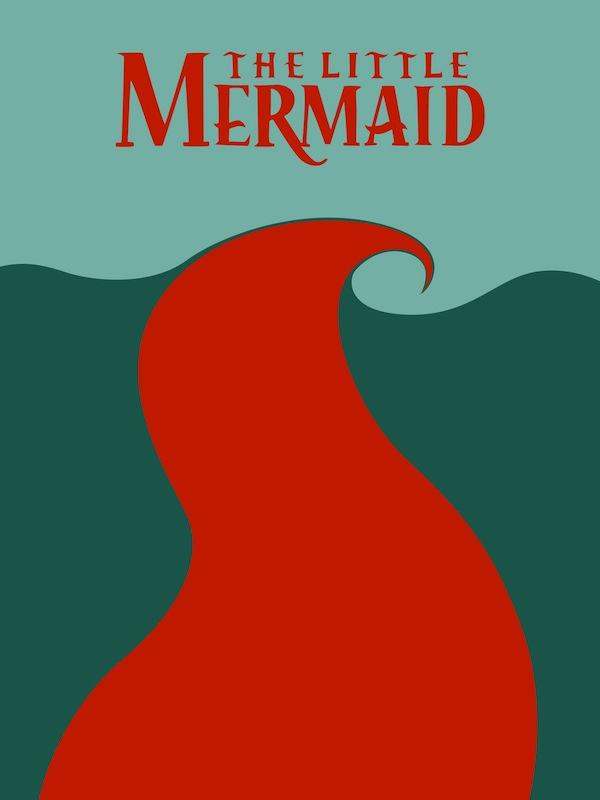 minimal disney001the_little_mermaid