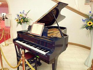 140531_2262宝塚大劇場内・名物の自動演奏ピアノ