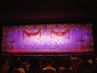 140531_2264宝塚大劇場内・2幕開演前の自席から見た緞帳