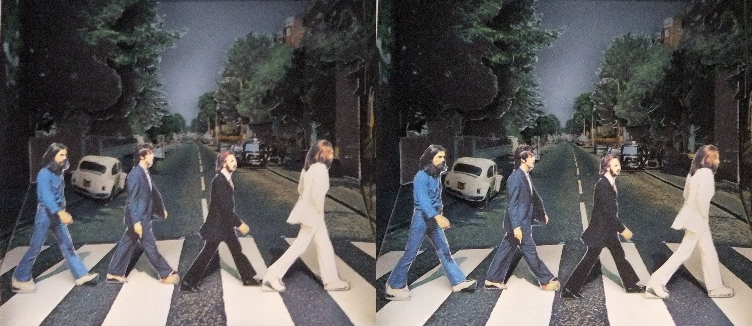 ABBEY ROAD 立版古②(交差法)