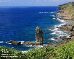立神岩,沖縄,壁紙,与那国