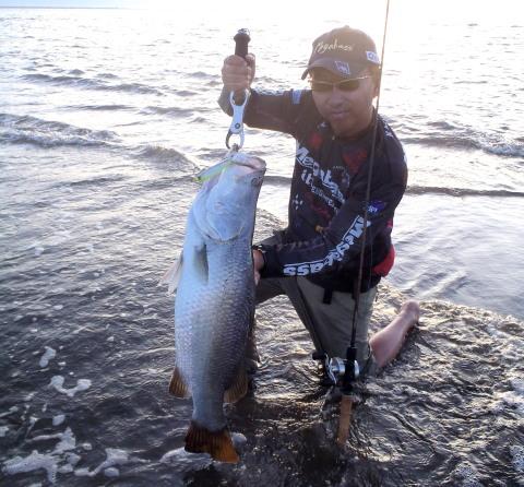9月、インドネシア、ウエストパプア釣行