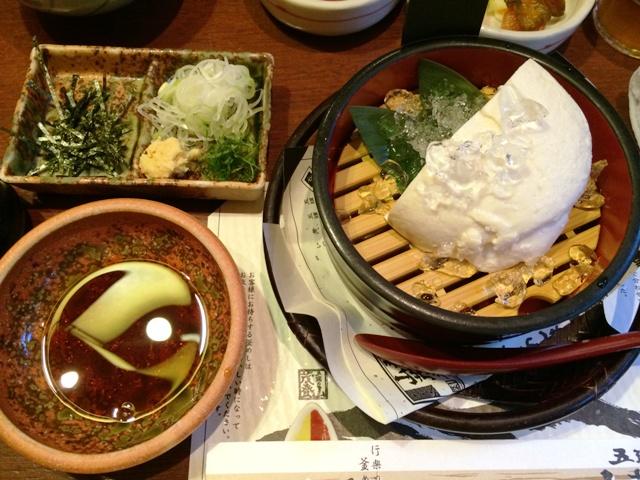 村杉温泉おぼろ豆腐(旨味醤油)