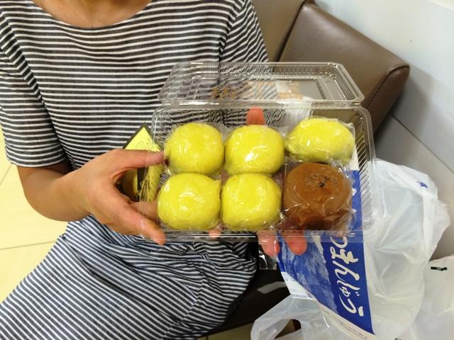 柳津町「小池菓子舗」のあわまんじゅう