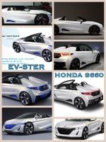 Honda. EV-STER S660