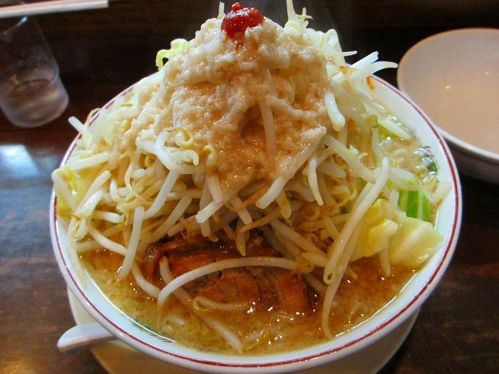 のろし安田 味噌ラーメン肉1野菜増