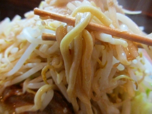 のろし安田 味噌ラーメン肉1野菜増 麺
