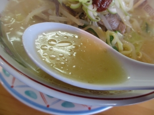 かちどきや 辛味噌ラーメン スープ