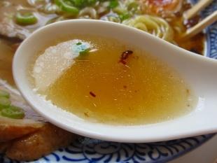 かぬちゃや アッサリラーメン スープ