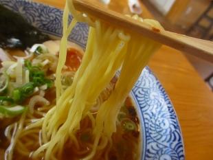 かぬちゃや アッサリラーメン 麺