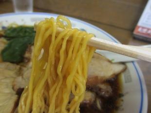 おおえど本店 醤油チャーシュー麺 麺