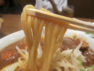 しゅめんていじゅん カレーラーメン 麺
