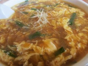 きたやま 酸辣湯麺 具