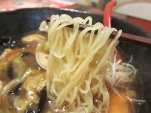 かんとんヌードルアピタ亀田 広東麺 麺