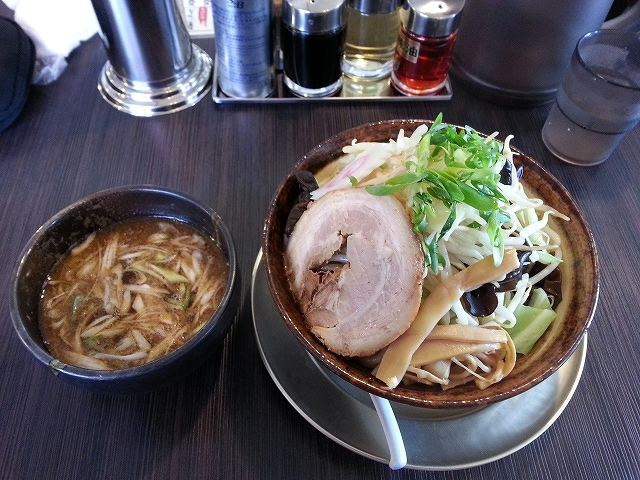 ふじの 野菜ツケソバ(並)