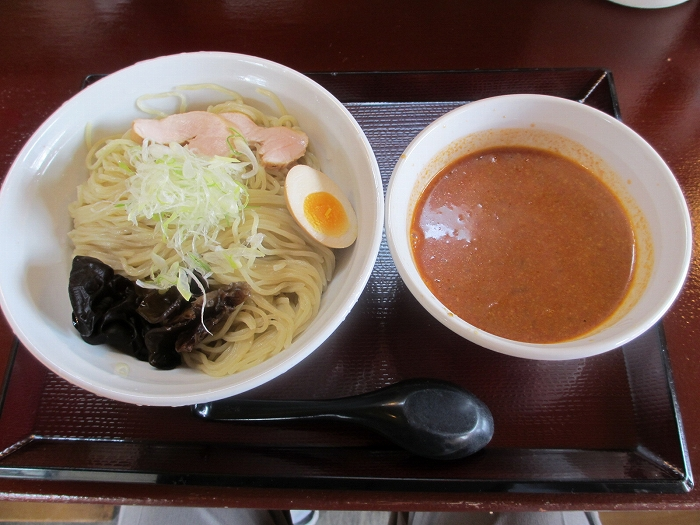 あかなおじ 濃厚エビつけ麺細麺