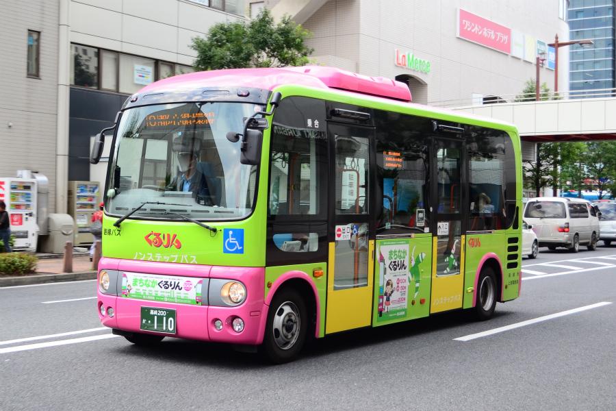 上信バス(ぐるりん) 高崎200か110