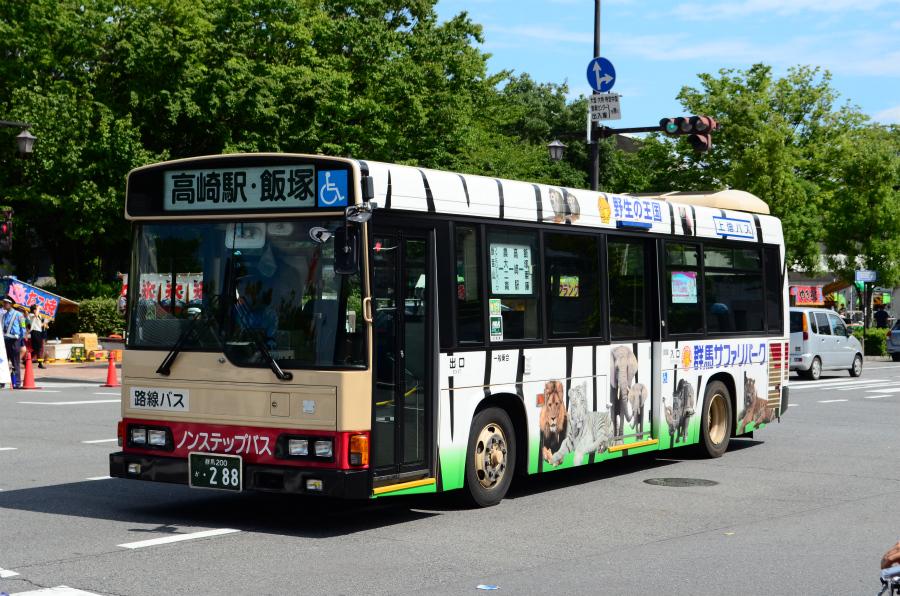 上信電鉄 群馬200か288