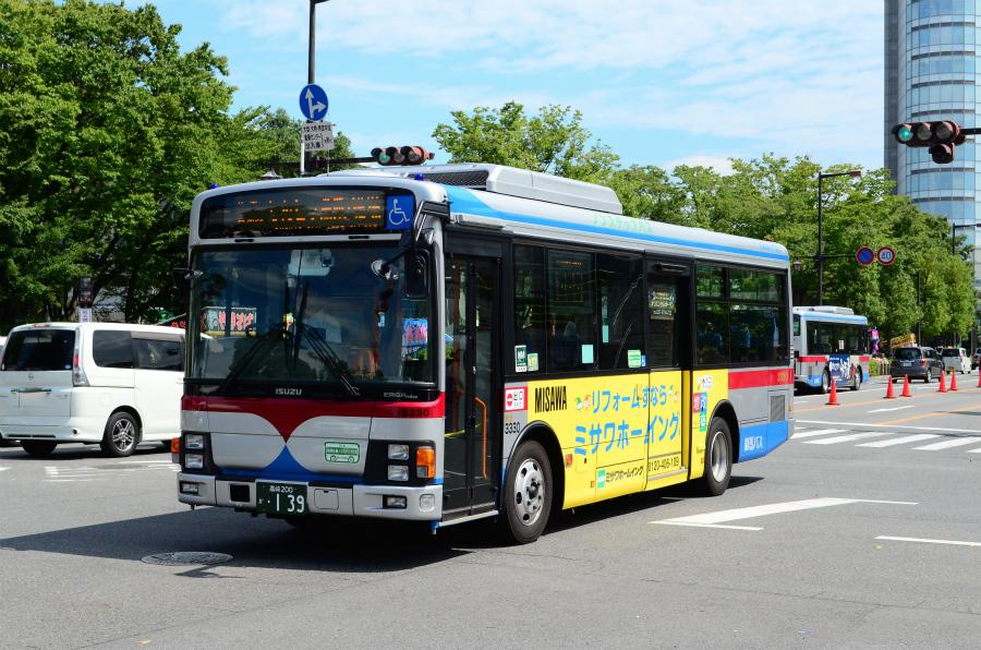 群馬バス 3330(高崎200か139)