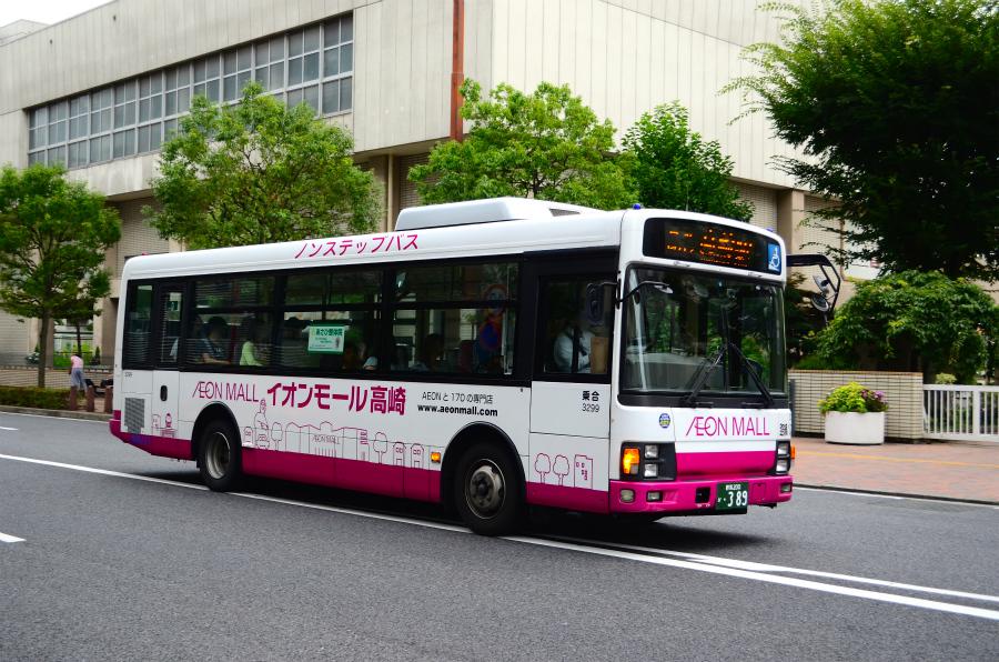 群馬バス 3299(群馬200か389)