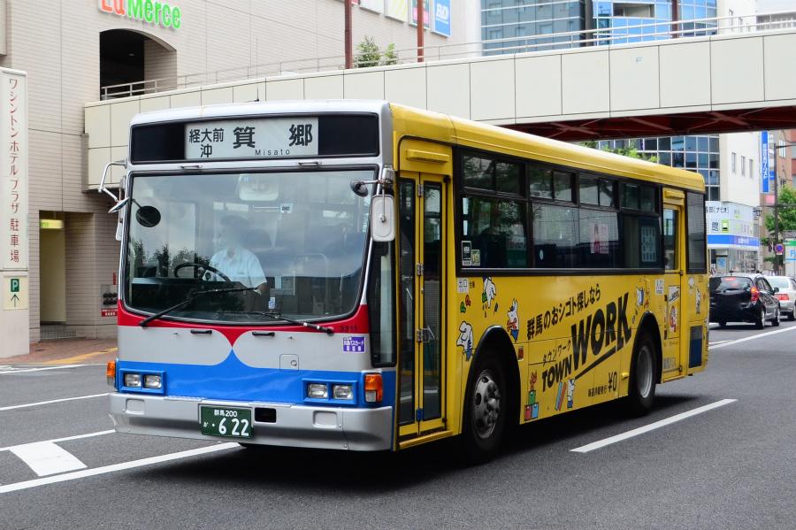 群馬バス 3311(群馬200か622)