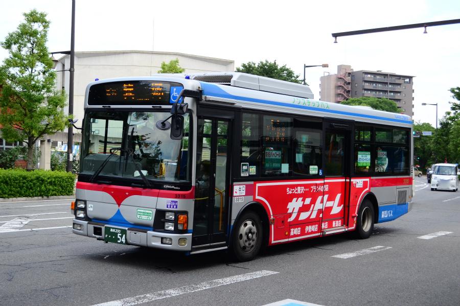 群馬バス 3315(高崎200か54)