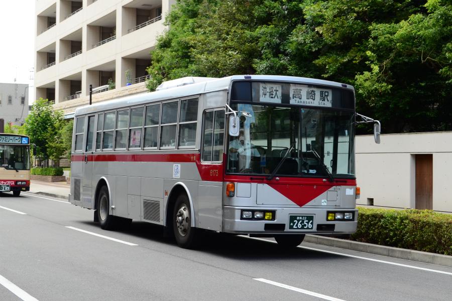 群馬バス 6173(群馬22あ2656)