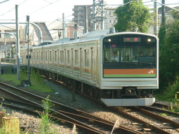 2014-08-06 八高線205系ハエ81編成 川越行き