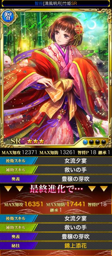 竹姫スキル