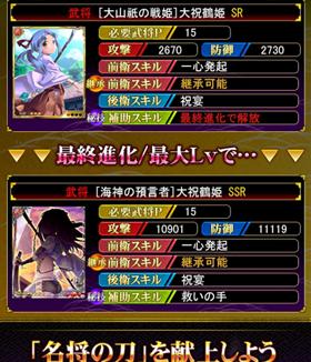 大祝鶴姫 救いの手