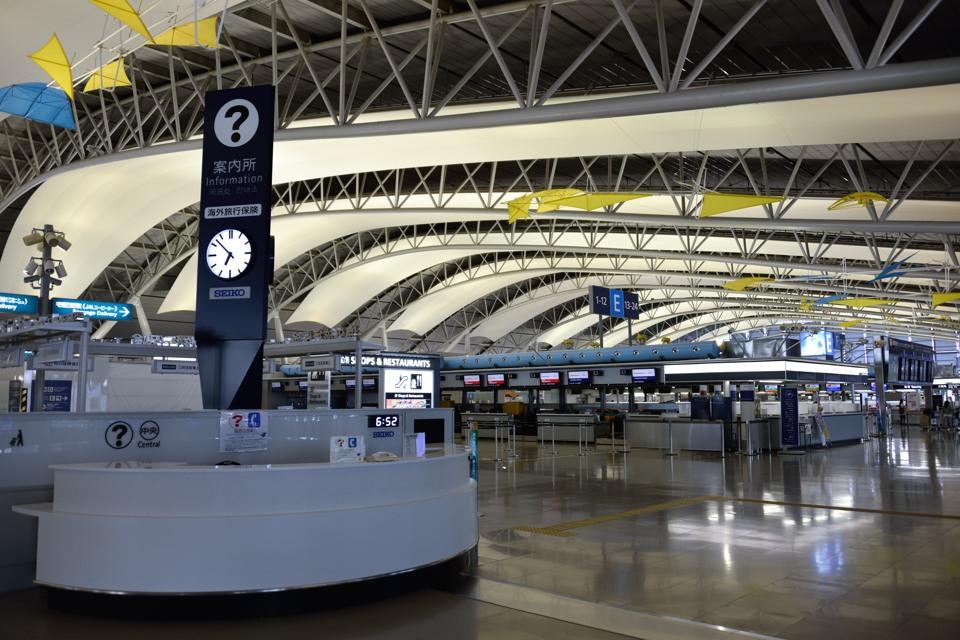 2014年 関西国際空港 出国編