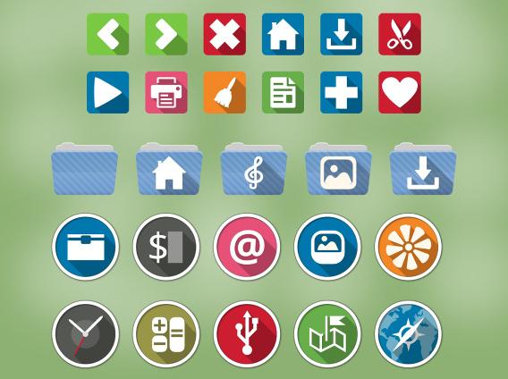 Ardis Icon Theme Ubuntu アイコンテーマ サンプル