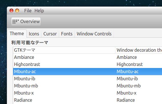 MacBuntu 14.04 Ubuntu 14.04 Mac OS X テーマの適用