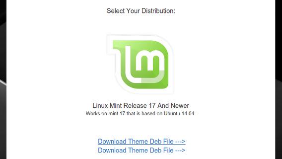 Mint X Colors Theme Ubuntu Cinnamon テーマ ダウンロード