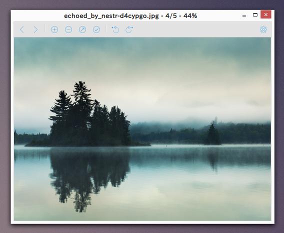 Viewnior Ubuntu 画像ビューア 高速