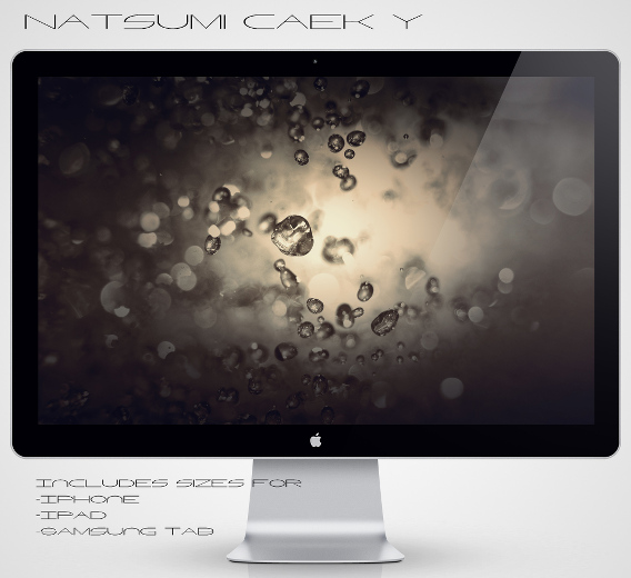 Water Spill by Natsum-i Ubuntu 壁紙