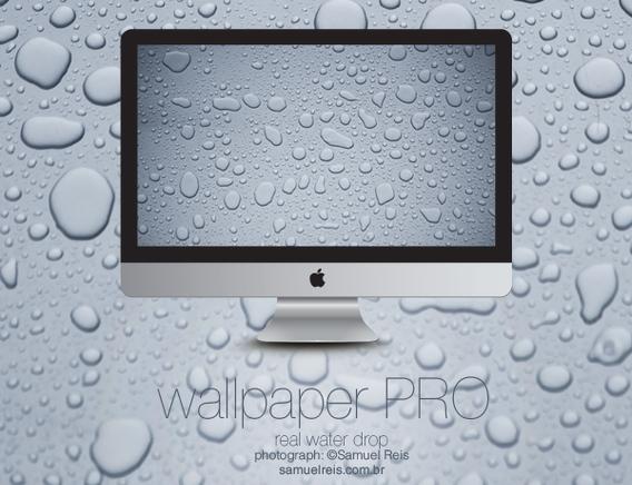 Water drop PRO Ubuntu 壁紙