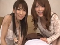 エロい美人姉妹と3P